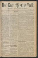 Het Kortrijksche Volk 1911-06-11