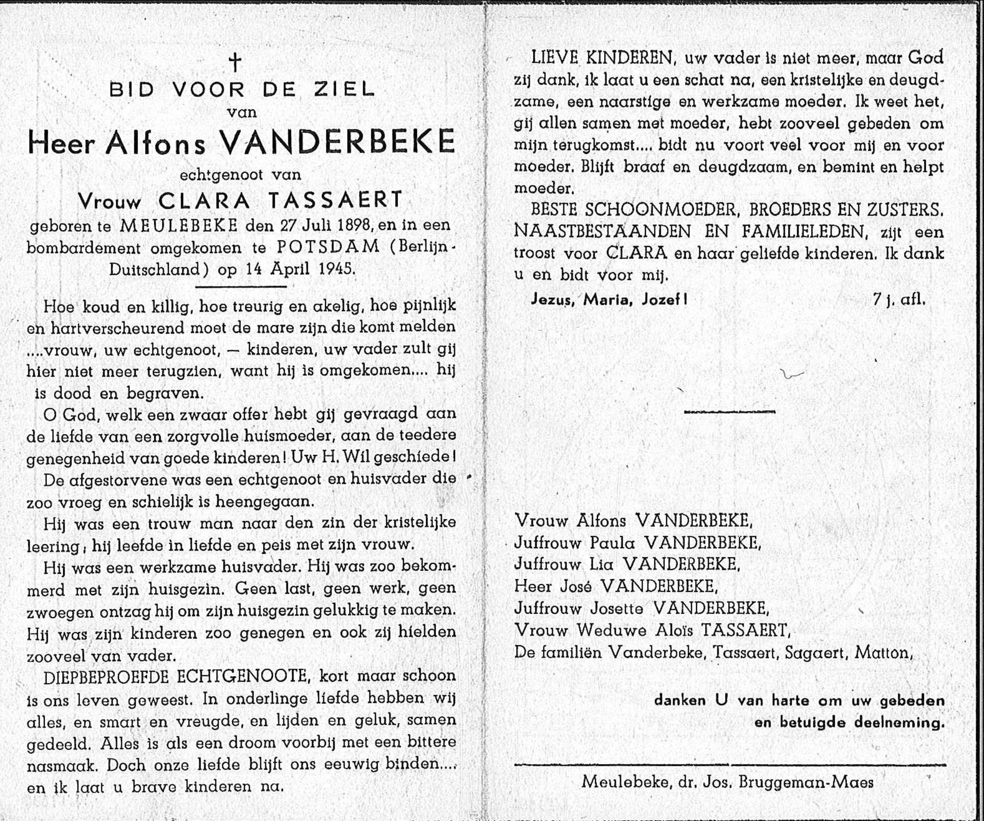 Alfons Vanderbeke