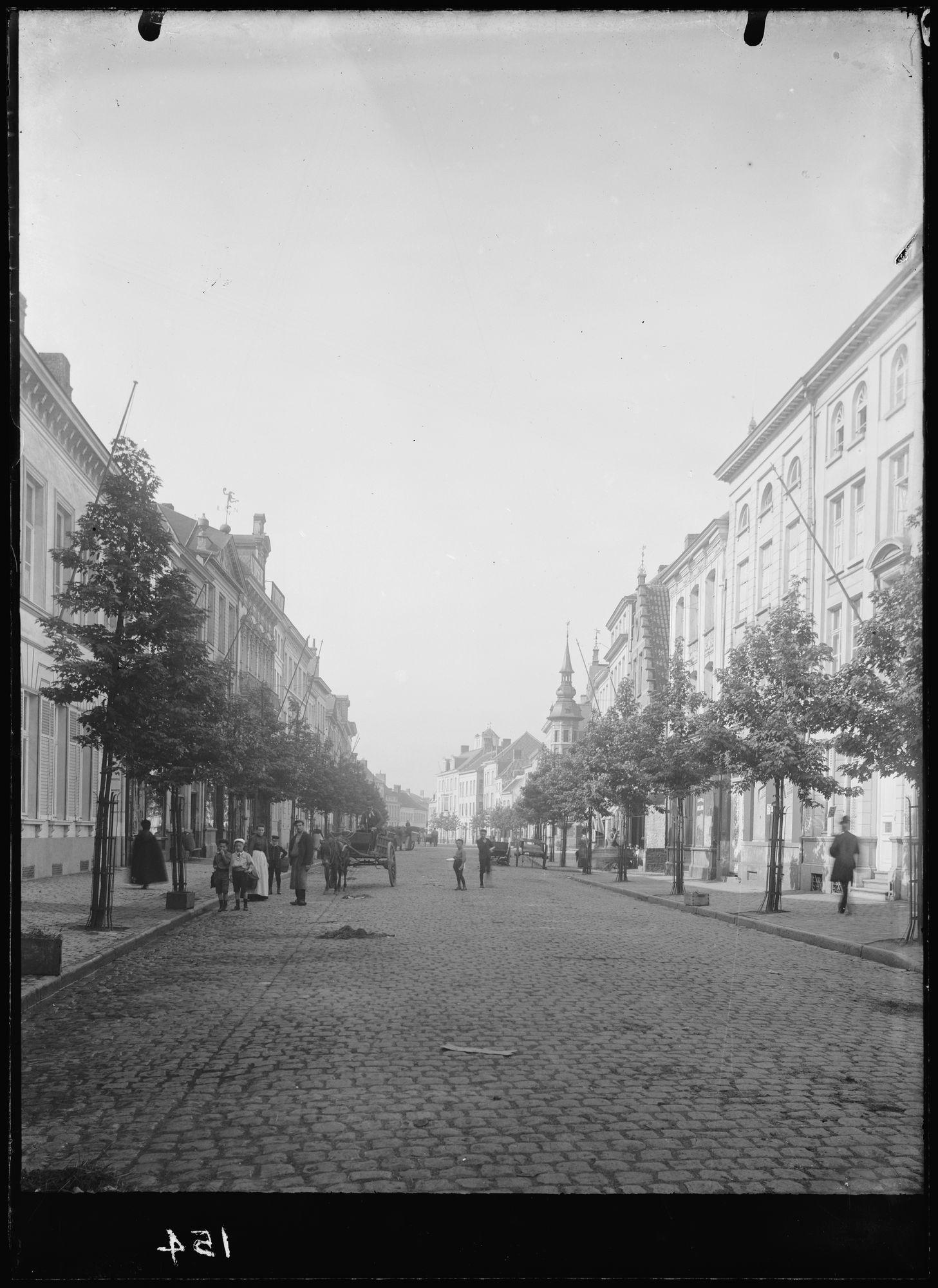 Rijselsestraat begin 20ste eeuw