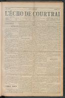 L'echo De Courtrai 1910-05-26 p1