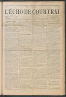 L'echo De Courtrai 1914-07-19