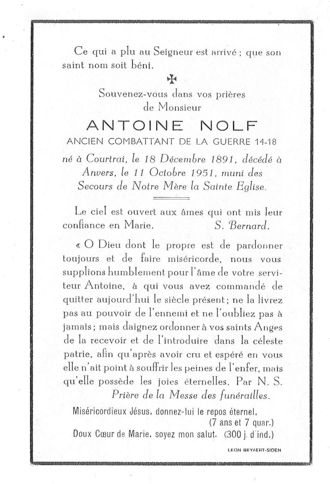 Antoine Nolf