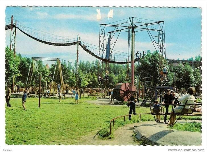 Foto van oud pretpark