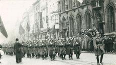 Parade Belgisch Leger wapenstilstand