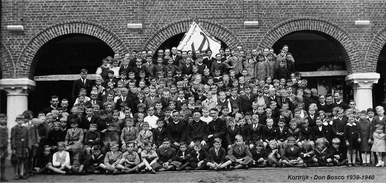 Klasfotos Don bosco Kortrijk 1930-1944