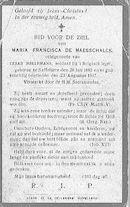 Maria-Francisca De Maesschalck