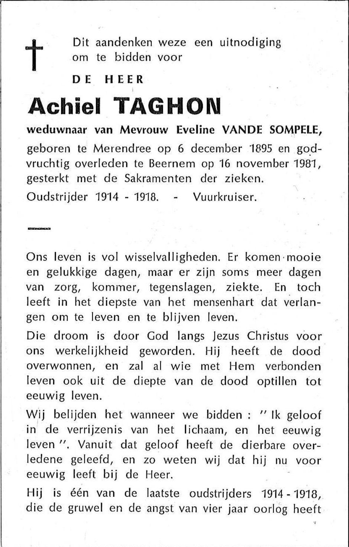Achiel Taghon