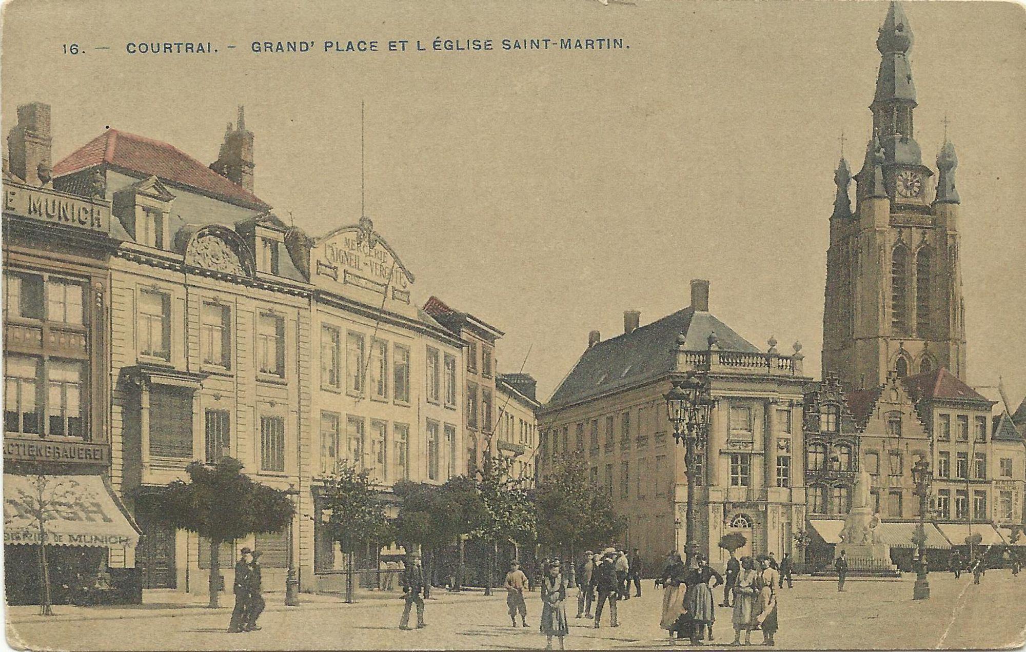 Grote Markt en Sint-Maartenskerk