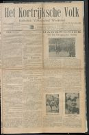 Het Kortrijksche Volk 1914-09-20 p1