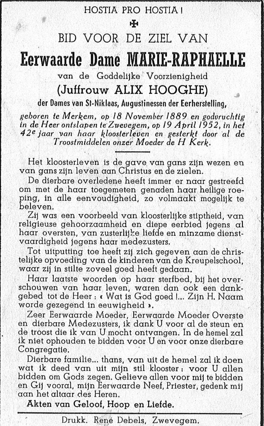 Alix Hooghe