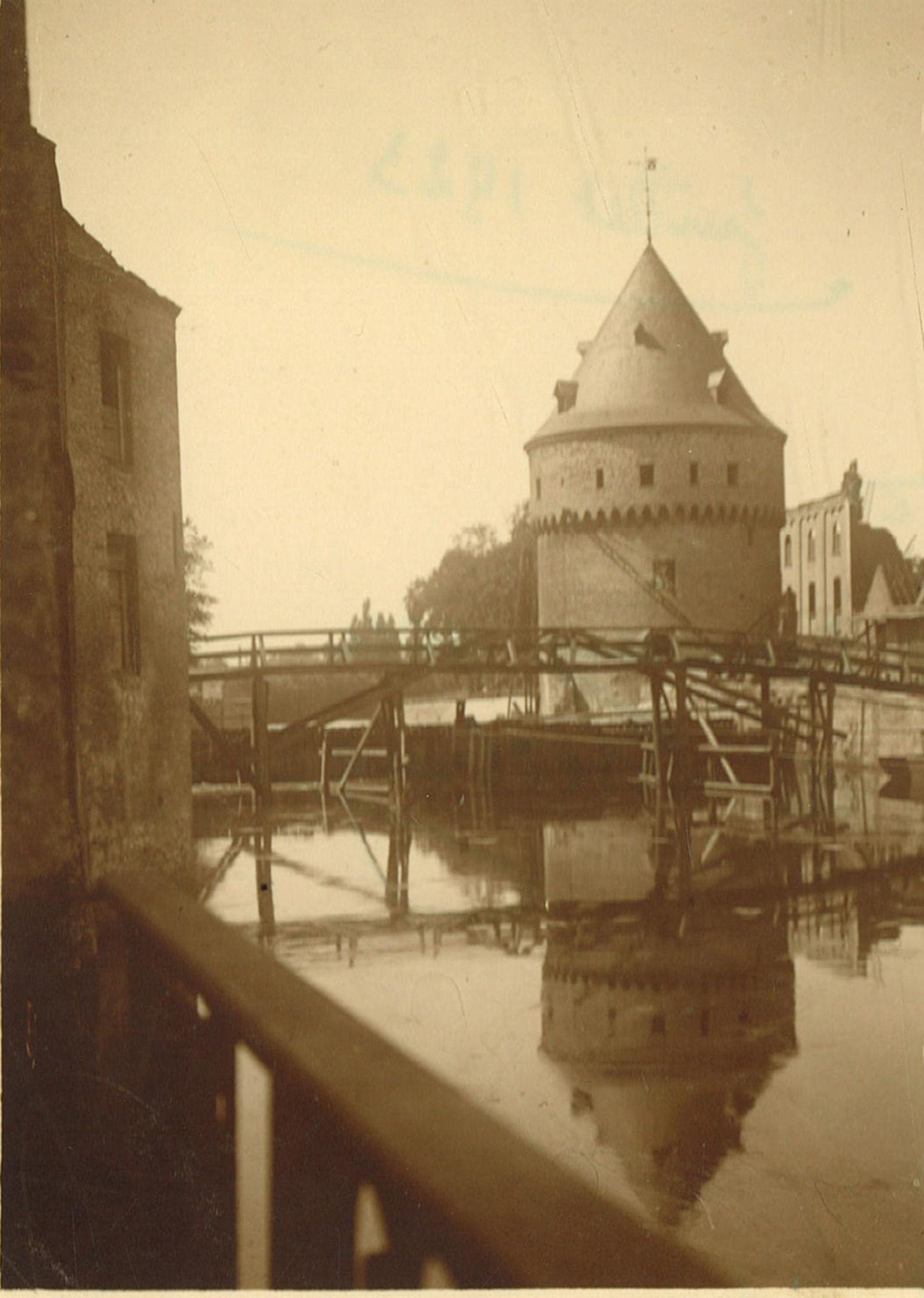 Broelbrug in 1923