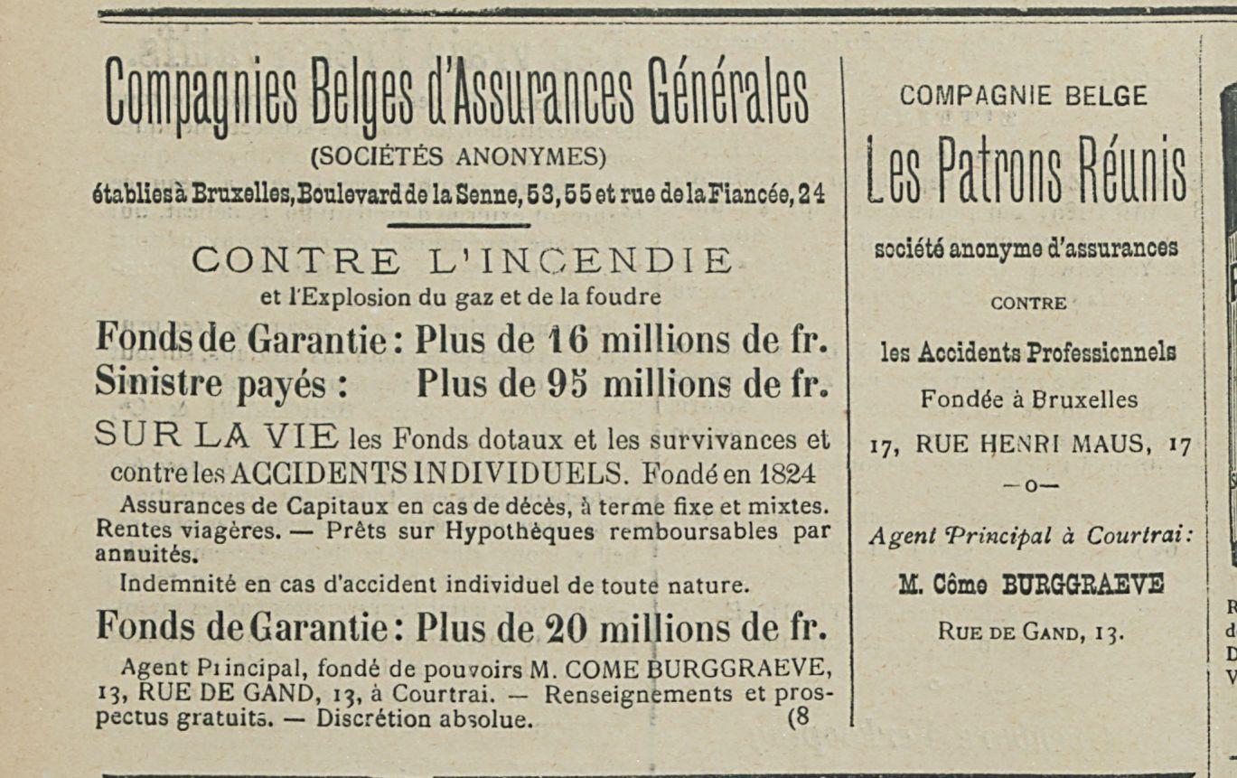 Compagnies Bleges d'Assurances Generales