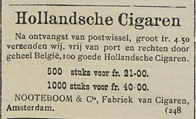 Hollandsche Cigaren