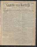 Gazette Van Kortrijk 1910-07-14 p1