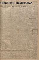 Kortrijksch Handelsblad 21 november 1945 Nr 93 p1