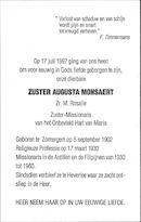 Augusta Monsaert