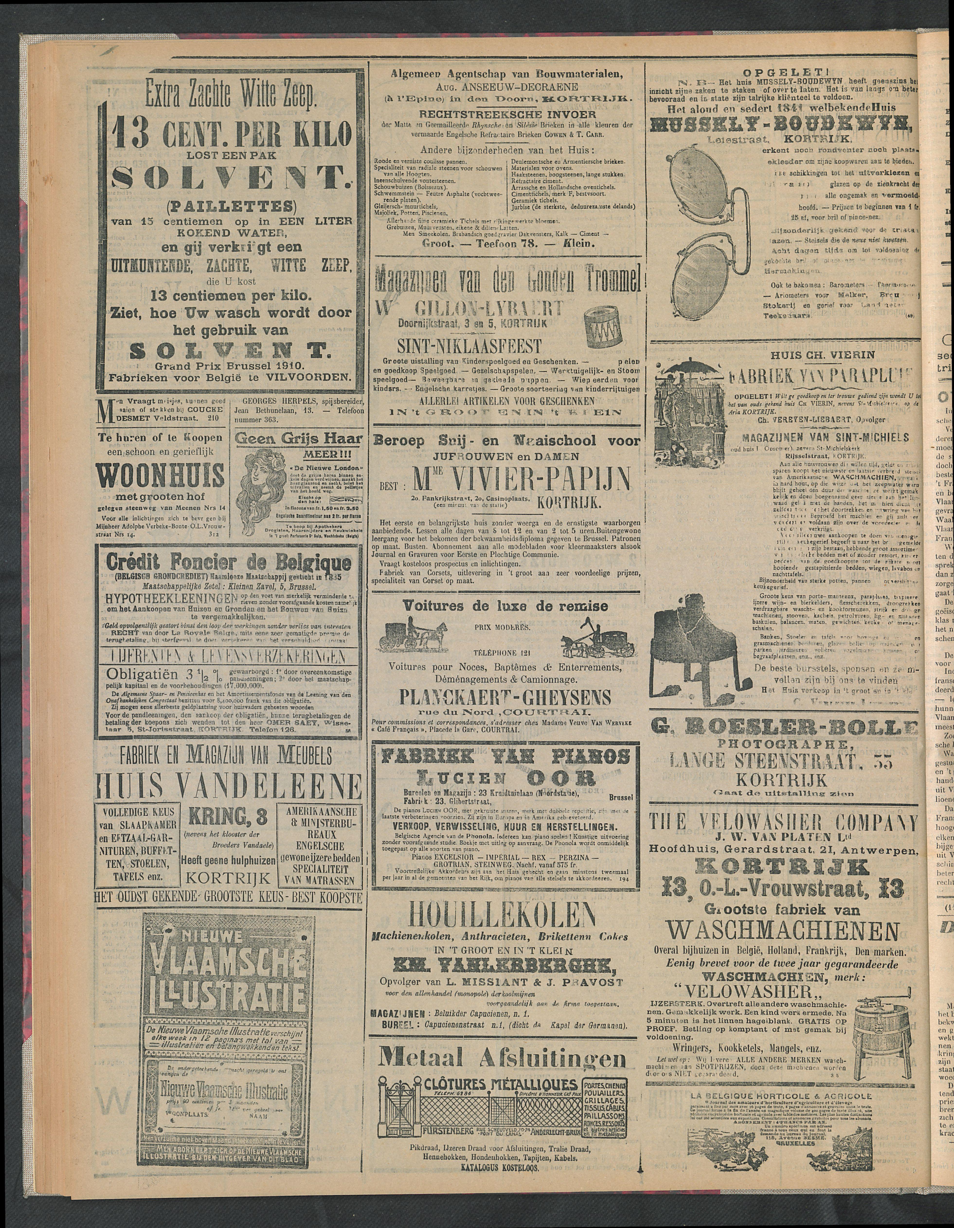 Gazette Van Kortrijk 1911-11-12 p4
