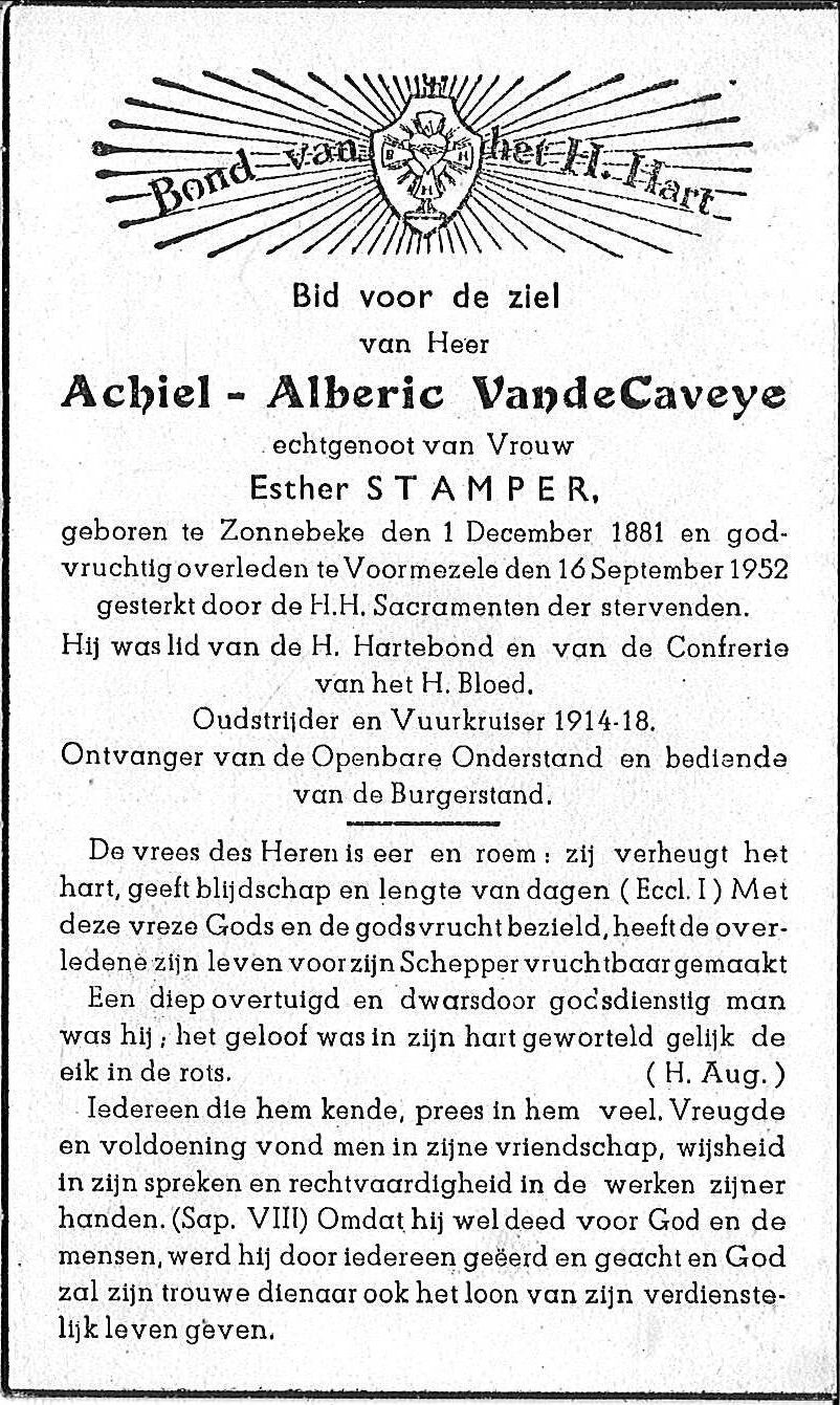 Achiel-Alberic Vandecaveye