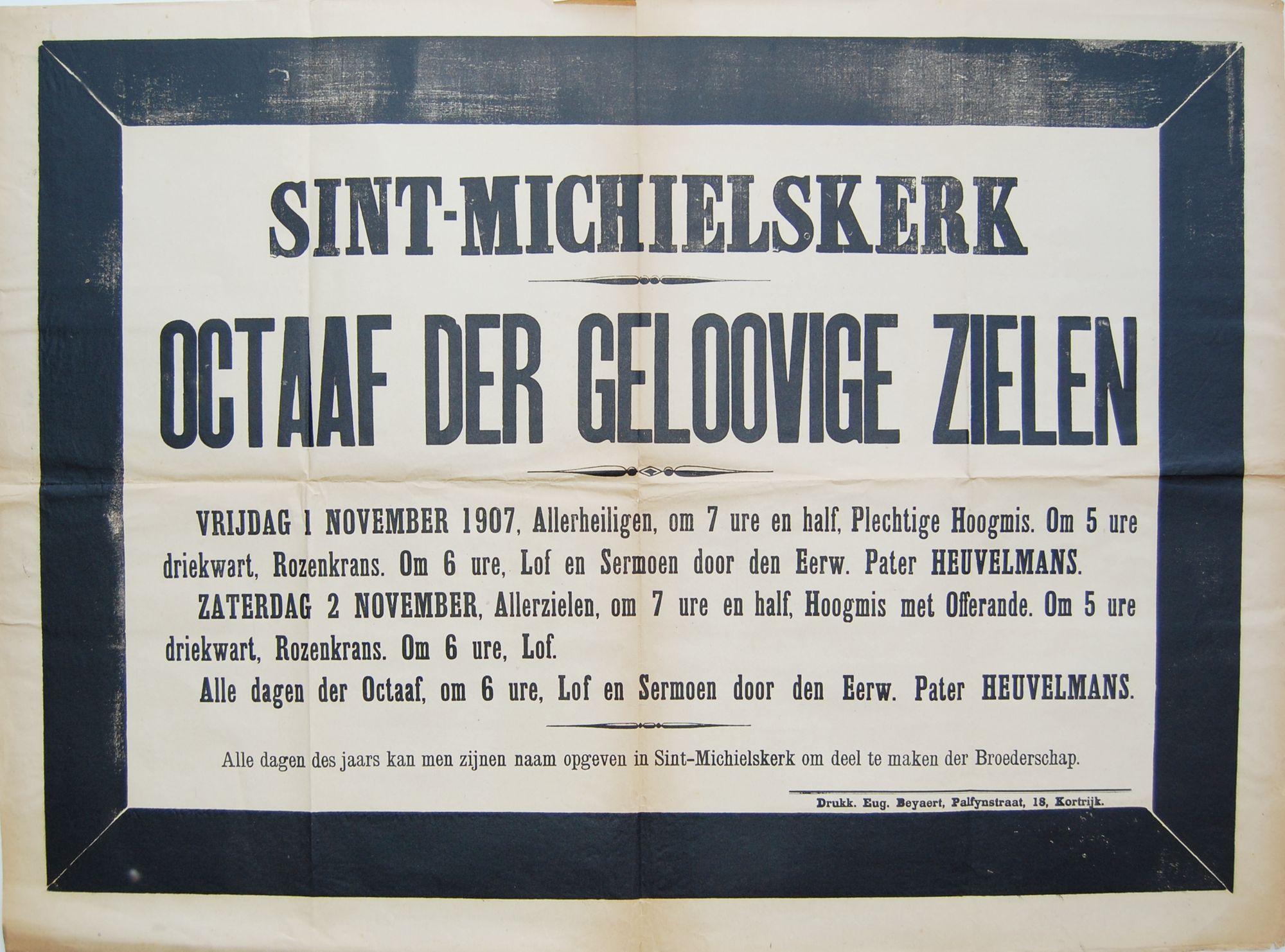 Gebedsdiensten Sint-Michielskerk