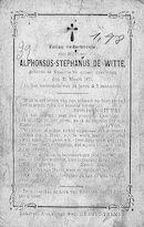 Alphonsus-Stephanus de Witte