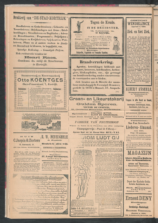 De Stad Kortrijk 1911-12-30 p4