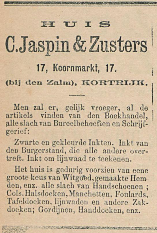 C.Jaspin&Zusters