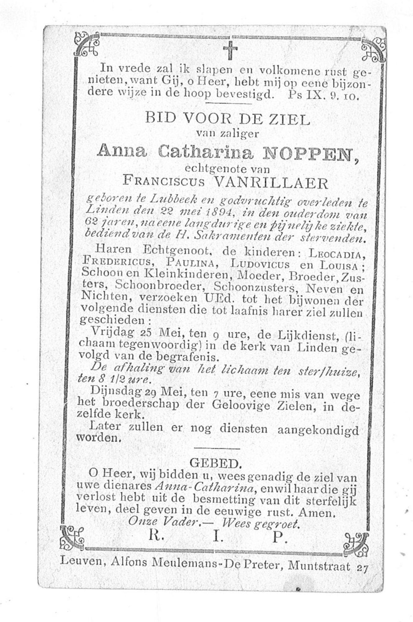Anna-Catharina Noppen