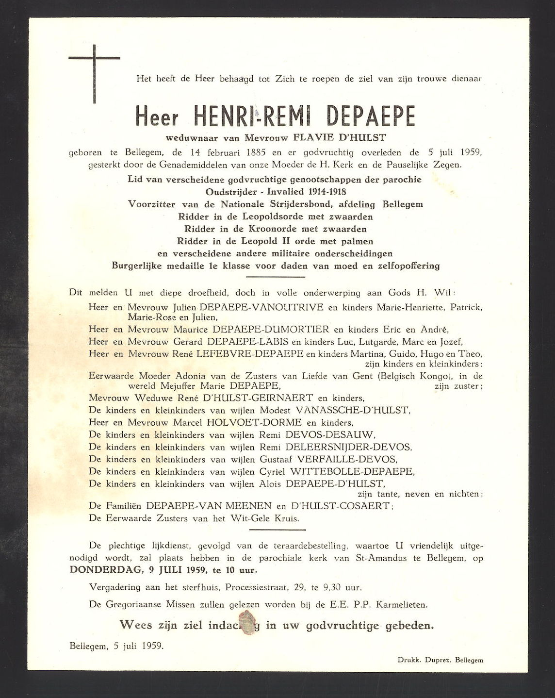 Henri-Remi Depaepe