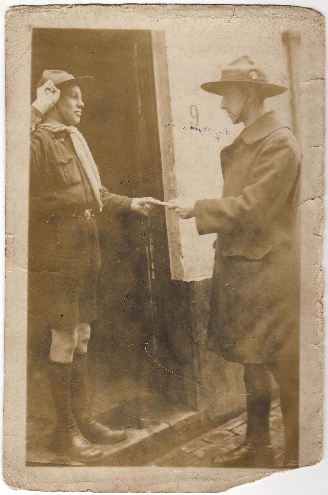 Scouts Baden Powell Kortrijk 1919 - 1930