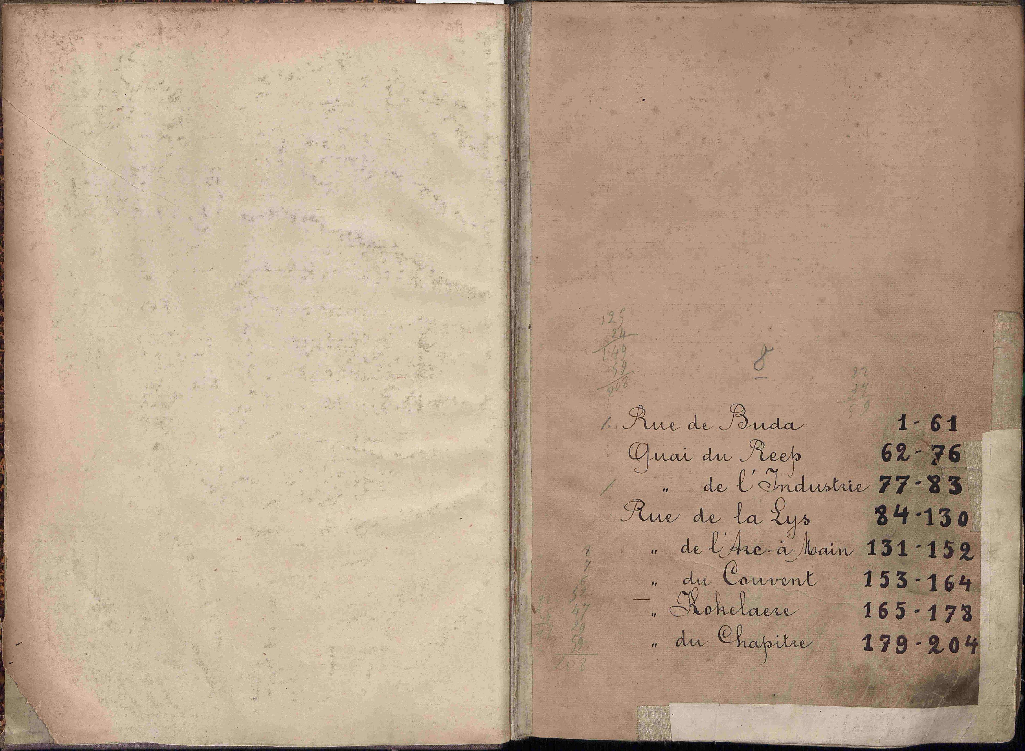 Bevolkingsregister Kortrijk 1890 boek 8