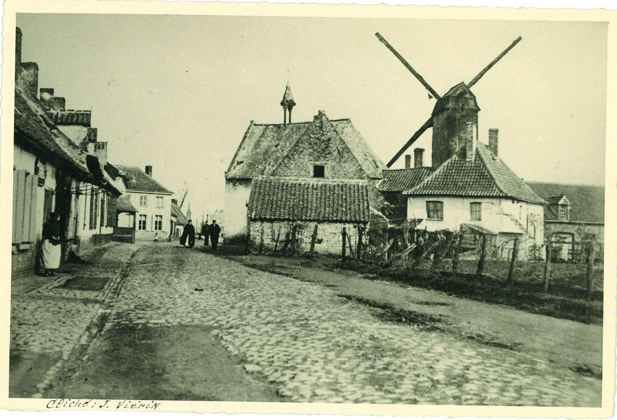 Zicht op het Walle van vroeger 1885