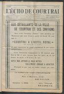 L'echo De Courtrai 1914-05-17