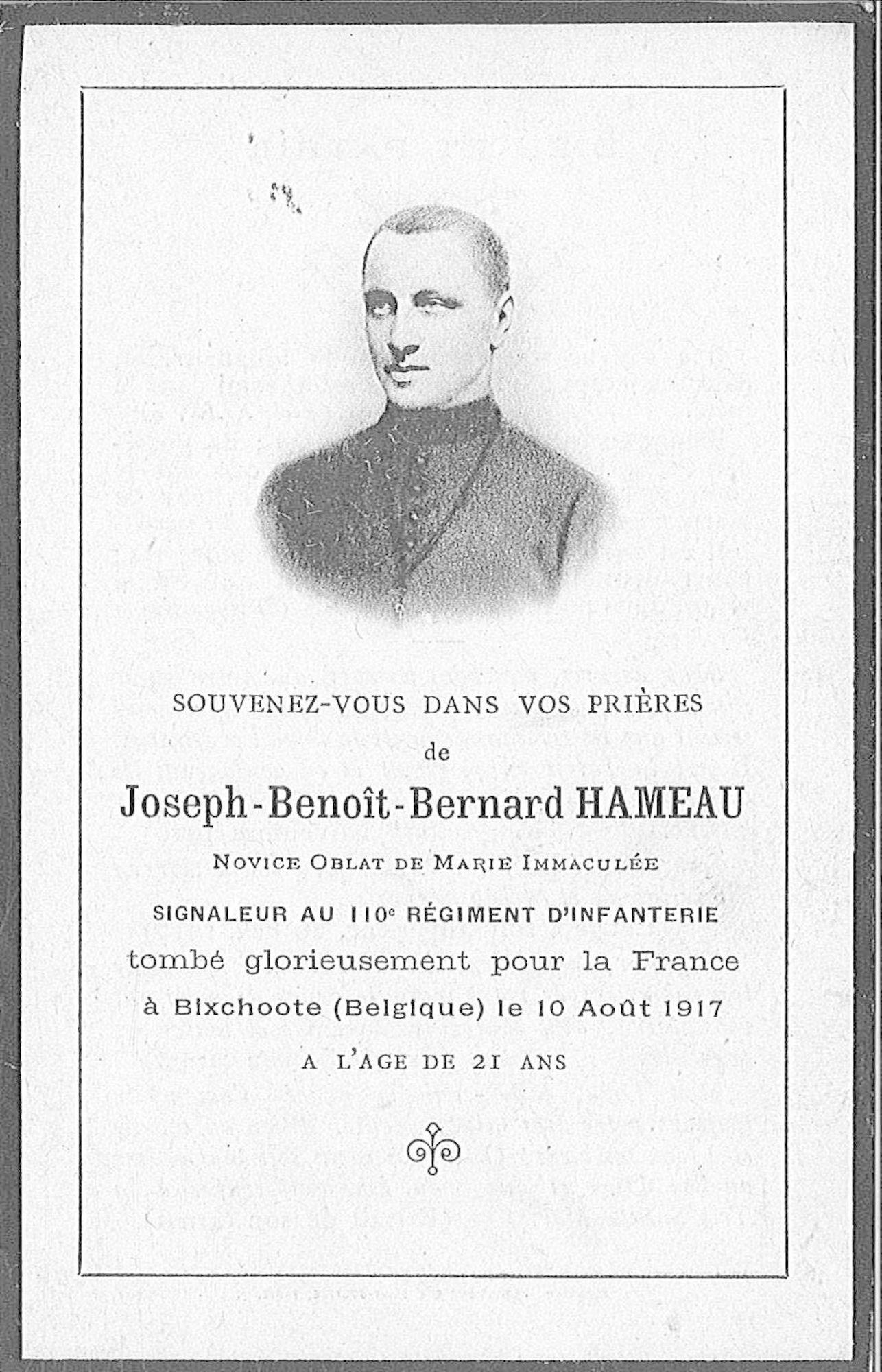 Joseph-Benoît-Bernard Hameau