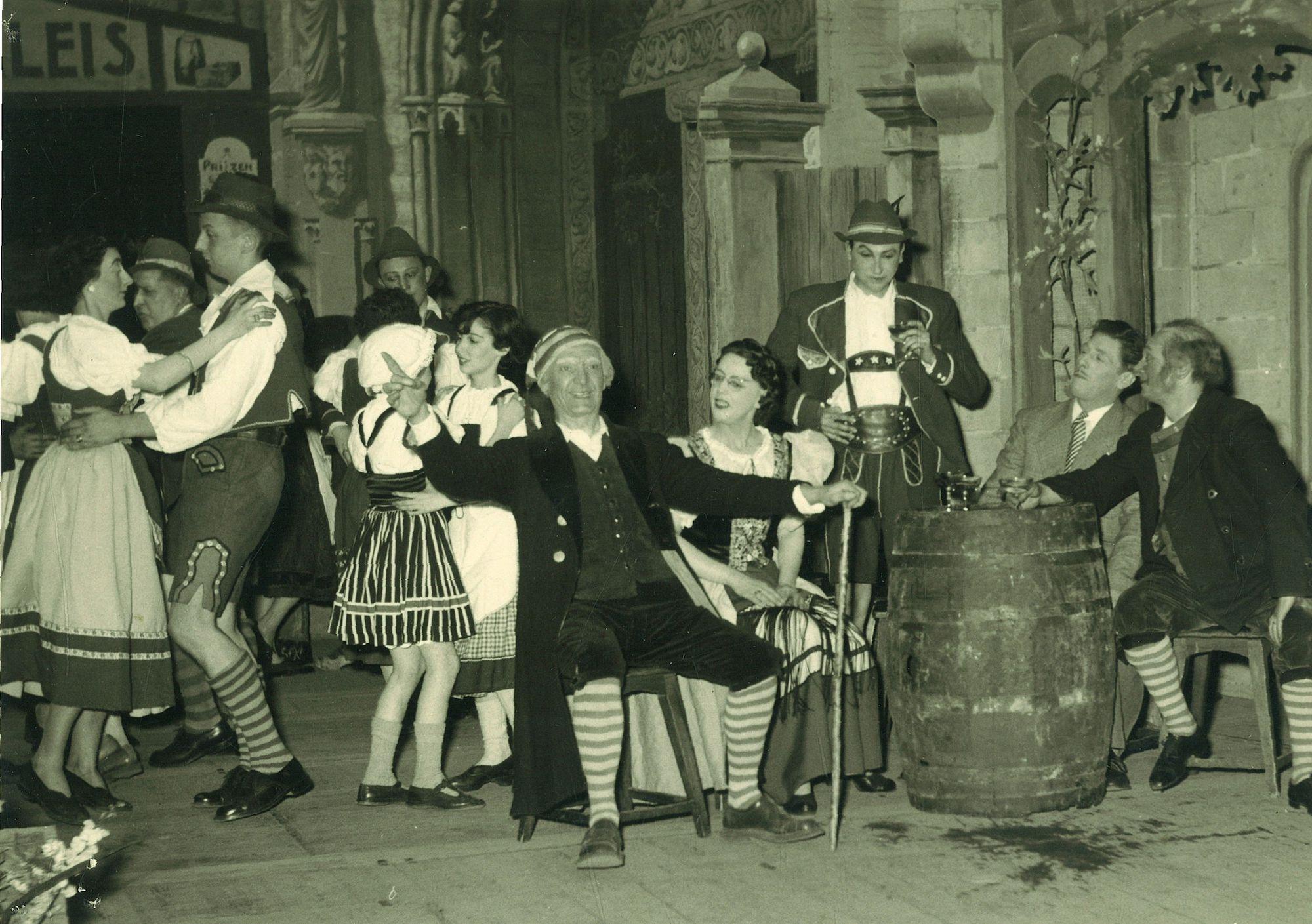 """Operette """"De Lustige Boer"""" 1953"""