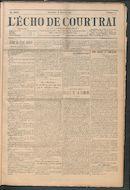 L'echo De Courtrai 1914-01-18