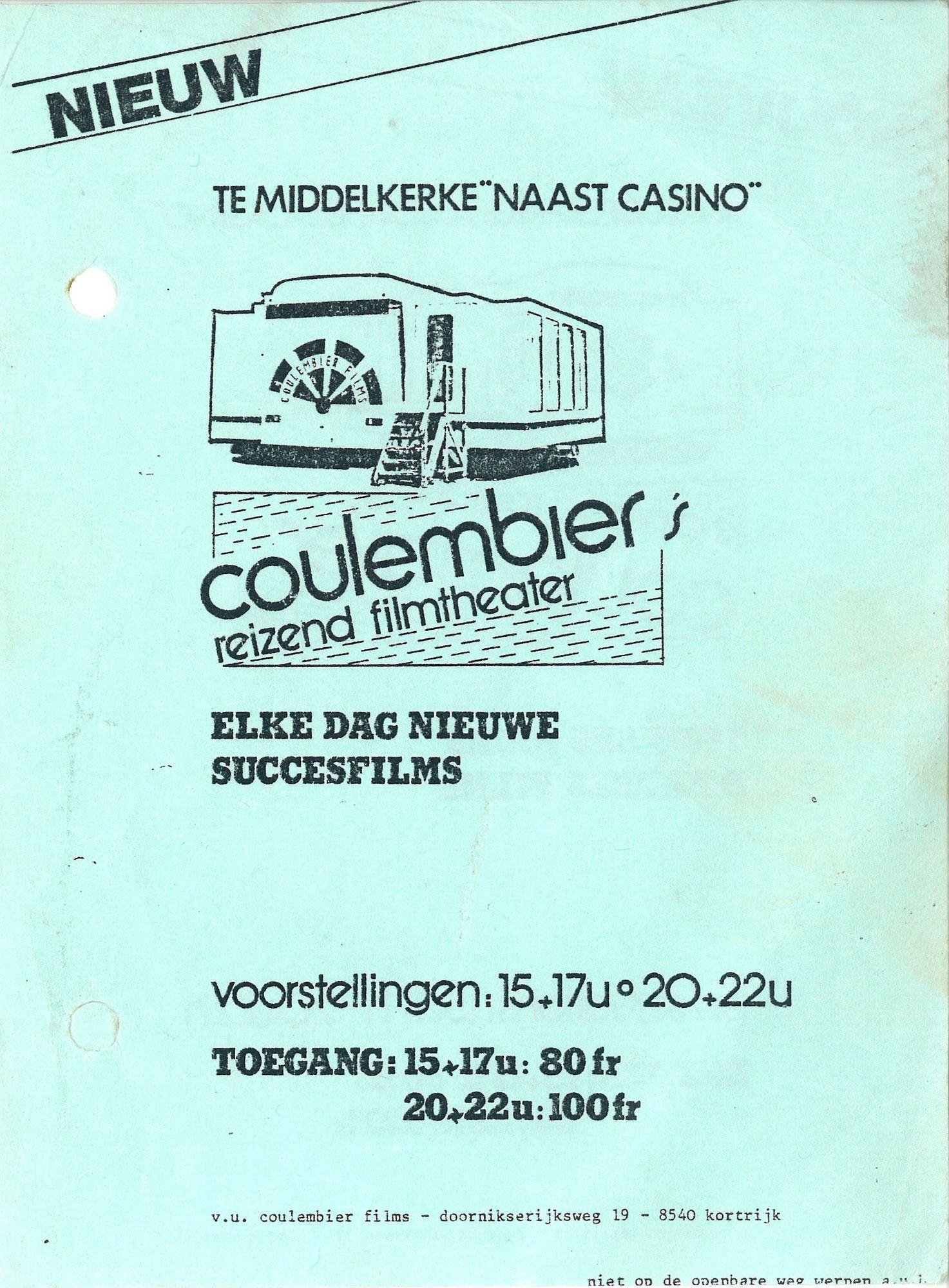 Reizende cinema in 1982