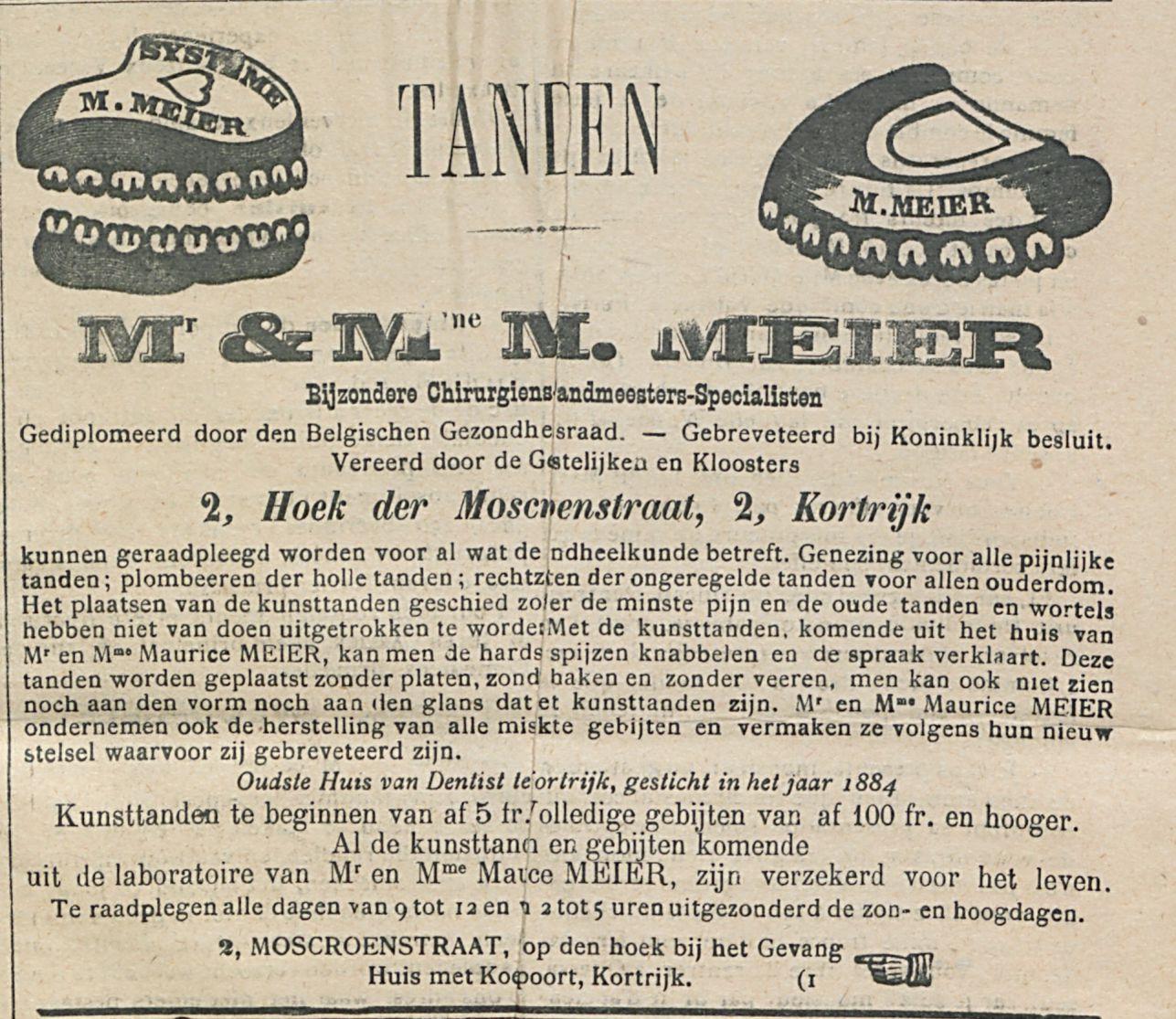 MR & MME M MEIER