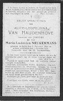 Van Haudenhove Alice-Leopoldina