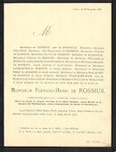 Fernand-Henri de Rossius