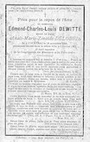Edmond-Charles-Louis Dewitte