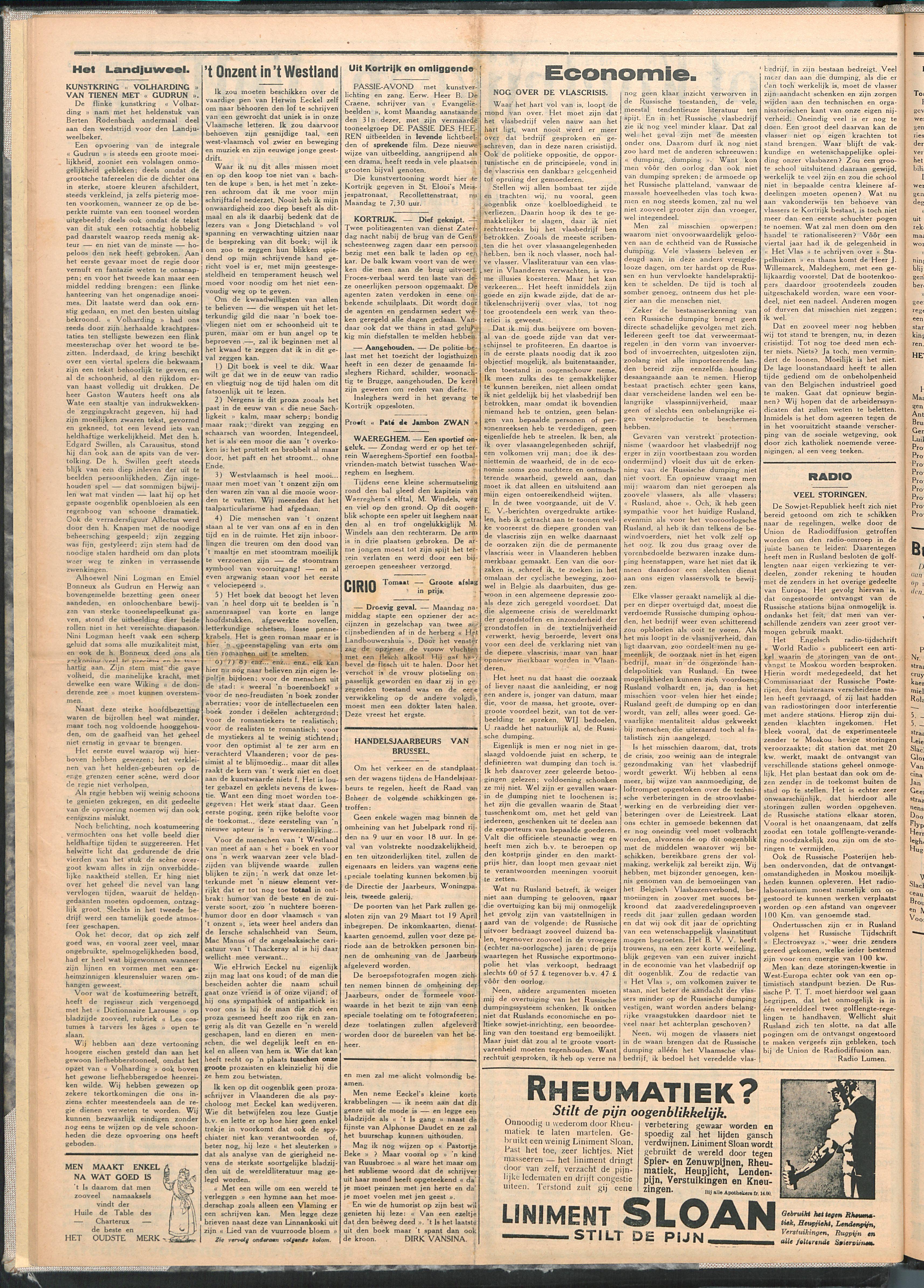Het Kortrijksche Volk 1930-03-30 p2