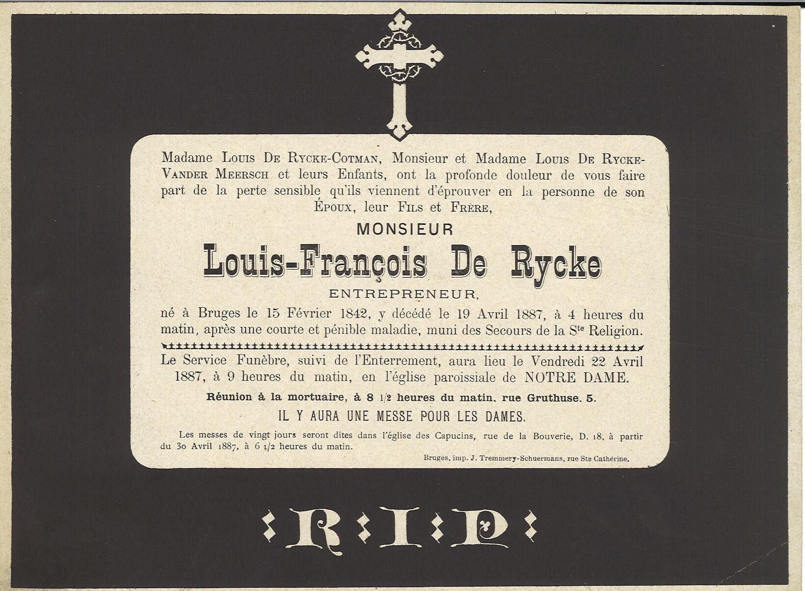 Louis-François De Rycke