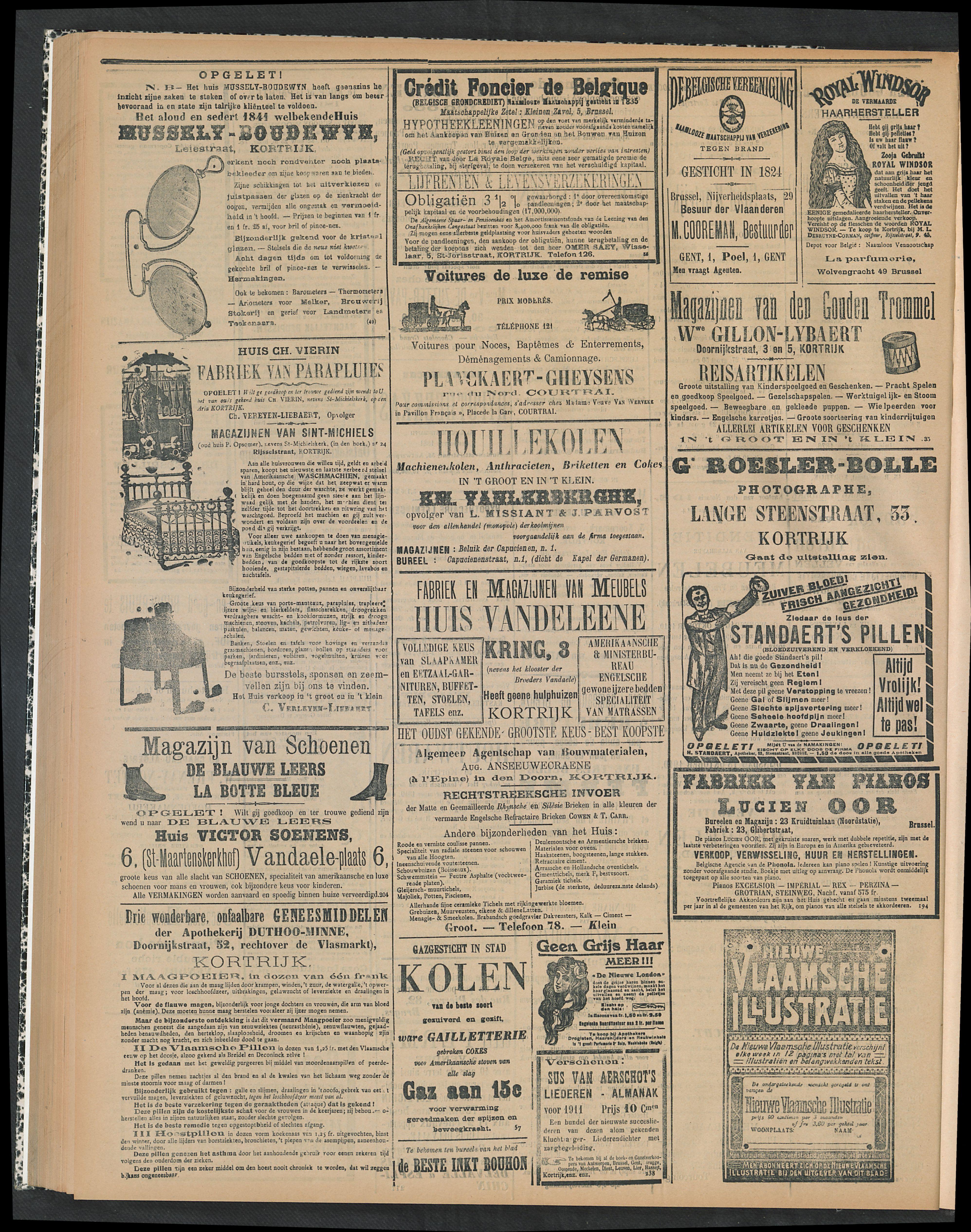 Gazette Van Kortrijk 1910-10-13 p4
