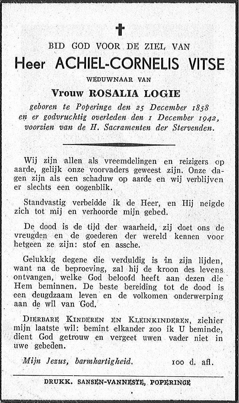 Achiel-Cornelis Vitse