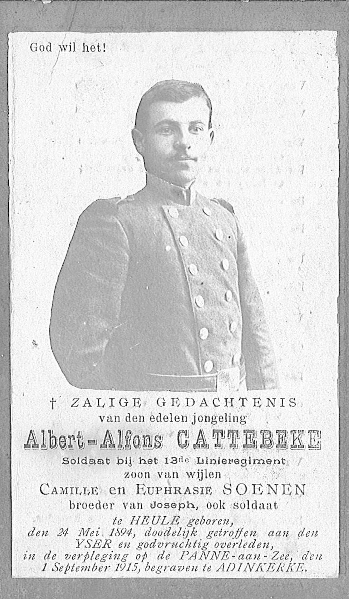 Albert-Alfons Cattebeke