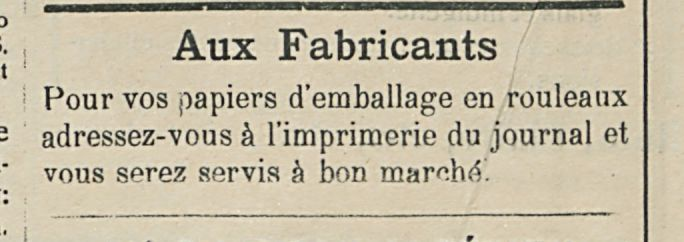 Aux Fabricants