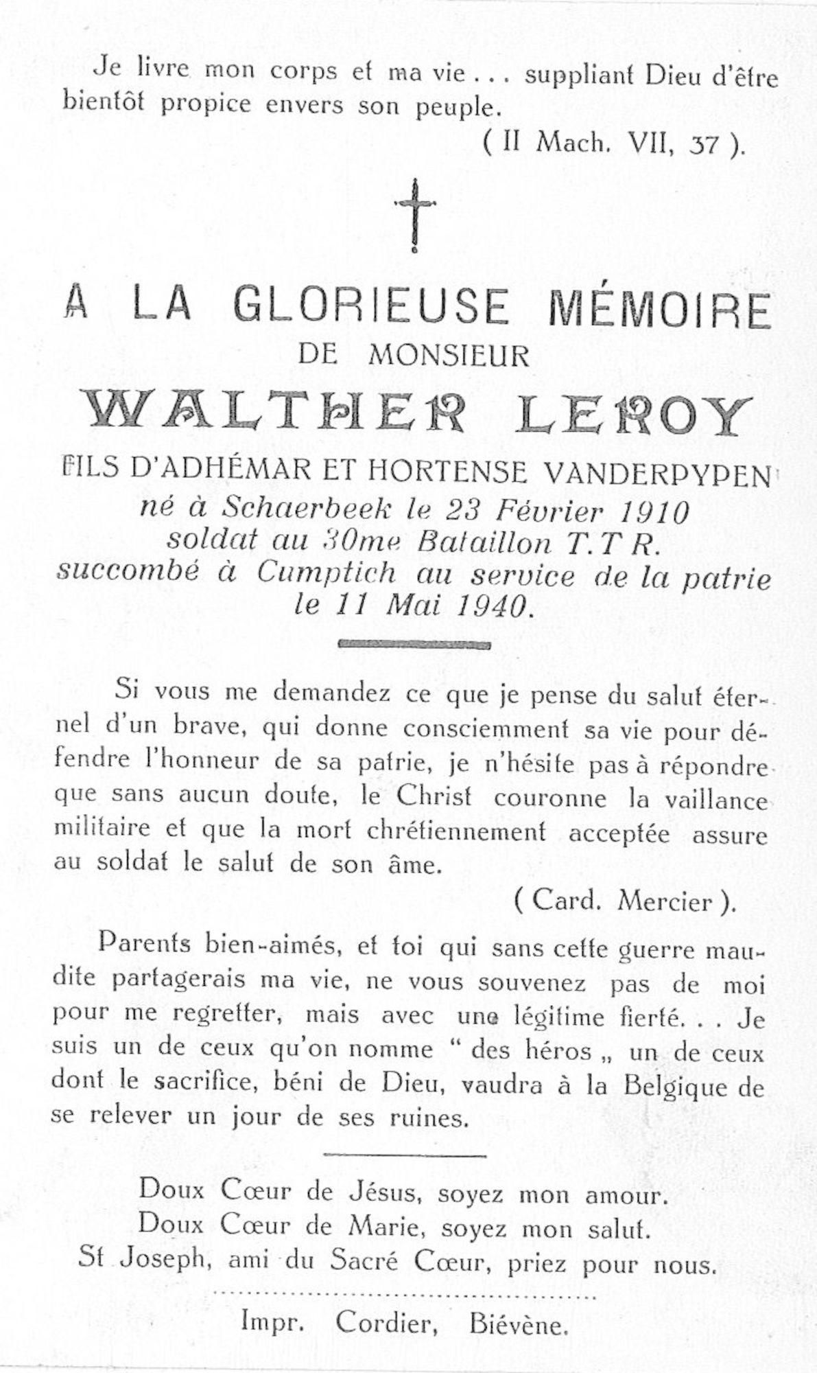 Leroy Walther