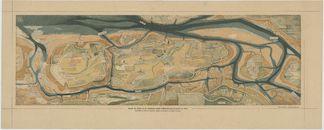 Westflandrica - Kaart van het Zwin en het nieuwe kanaal