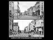 Doorniksestraat ca 1902 en 1975