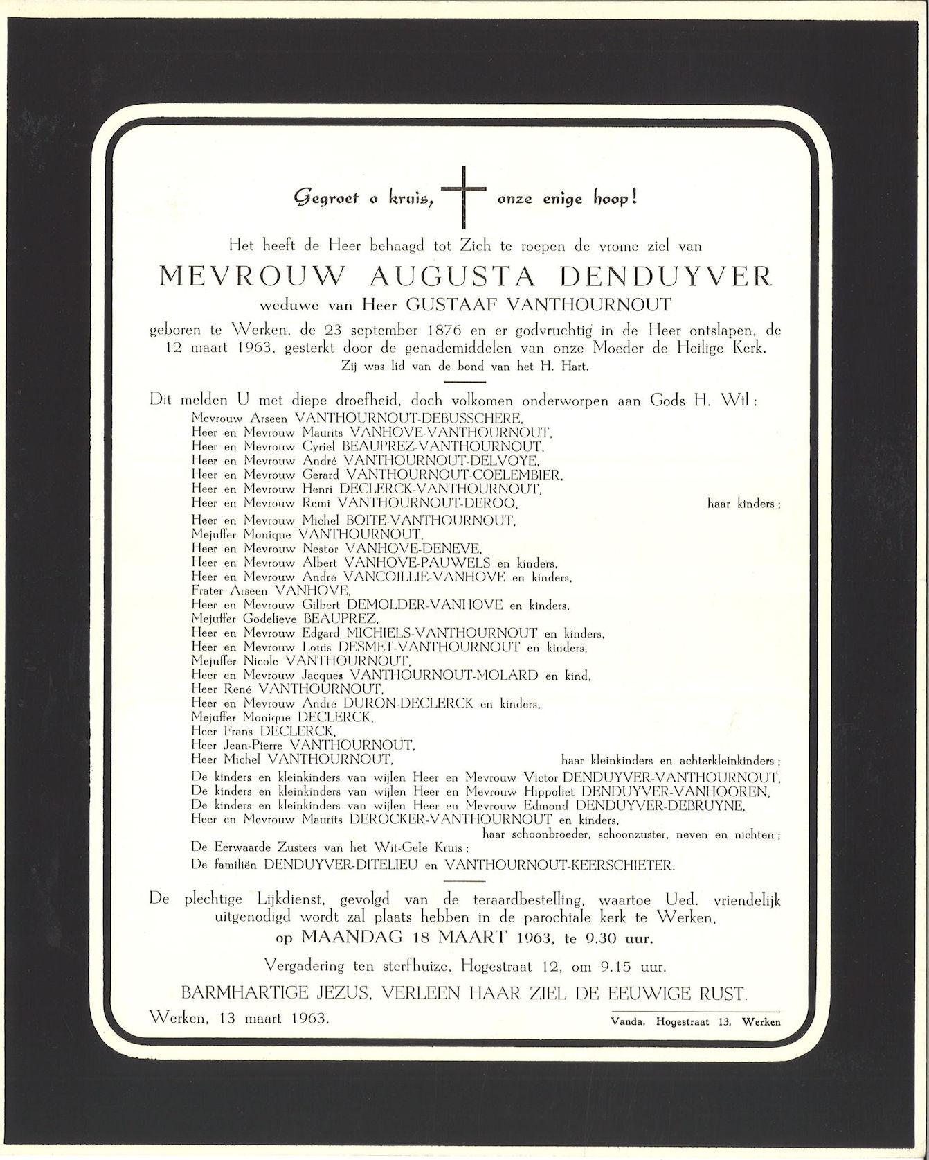 Denduyver Augusta
